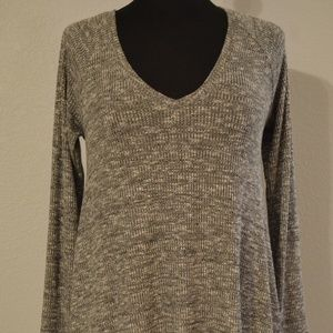 BLOUSE Pullover Top SIZE S a.n.a NEW APPROACH Gray